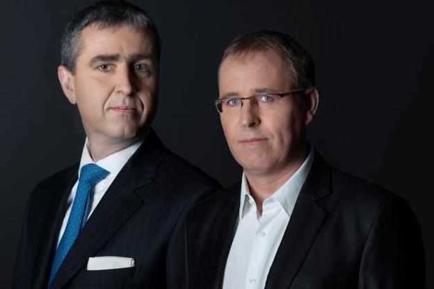Pierre Metzler et François Brouxel. (Photo: Wildgen)