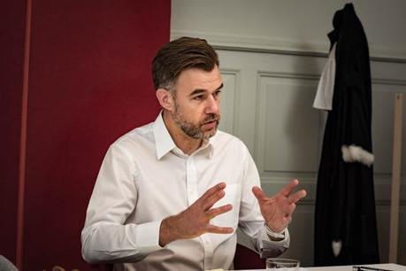 Franz Fayot: «Nous devons concentrer notre communication sur le fait que nous sommes un pays plurilingue, ouvert, cosmopolite, idéalement situé en Europe, avec un grand savoir-faire pour de nombreux produits.» (Photo: Nader Ghavami)