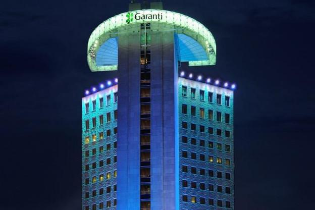 Garanti Bank, dont le siège est à Istanbul, est l'une des plus importantes banques privées turques. Elle est détenue à 40% par le groupe espagnol BBVA.  (Photo: Garanti Bank)