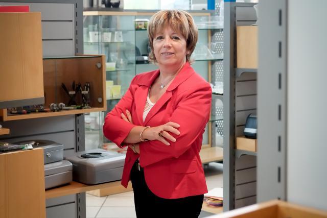 Exigeante. Monique Gammaitoni s'impose un niveau élevé de qualité au travail et en attend de même des collaborateurs de l'entreprise. (Photo: Jessica Theis)