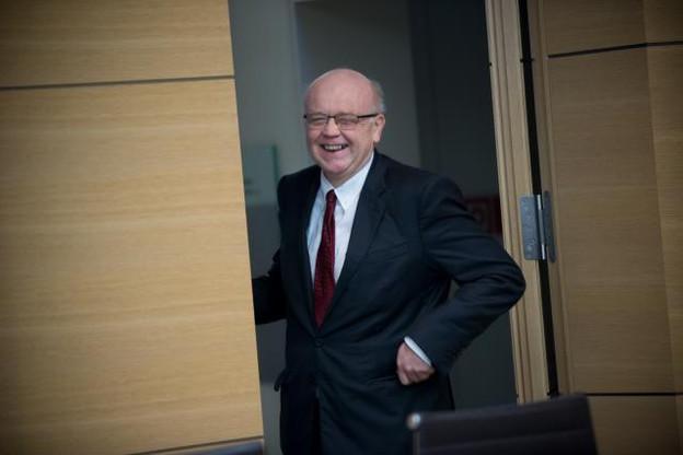 Gaston Reinesch invite les lecteurs à lui faire part de leurs observations concernant son essai d'économie politique. (Photo : Christophe Olinger / archives)