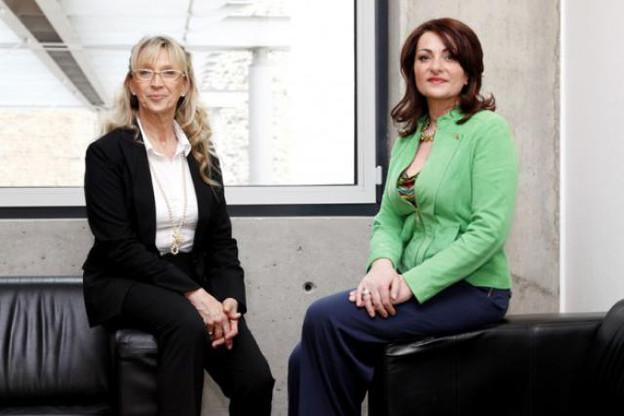 Brigitte Penot et Corinne Migueres animeront ensemble un atelier paperJam Business Club le 14 mai prochain. (Photo: Oliver Minaire)