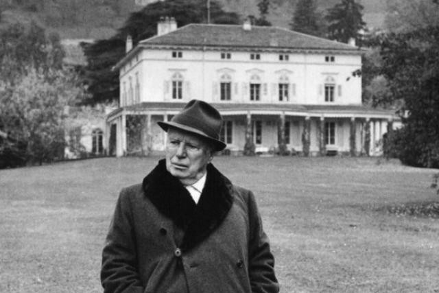 Chaplin a résidé 25 ans au Manoir de Ban où va être construit le musée qui lui sera dédié. (Photo: DR)