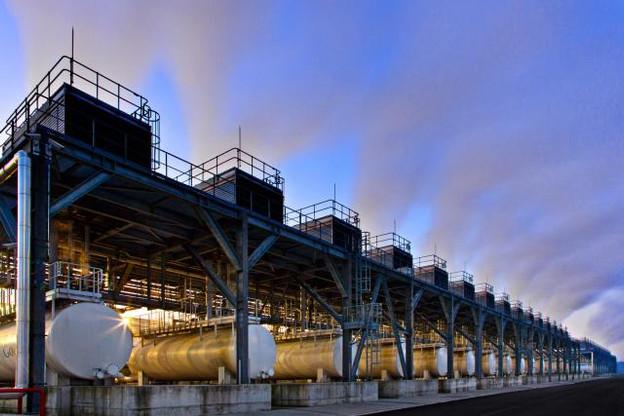 Le data center de Google, à Saint-Ghislain, va être doté d'une installation photovoltaïque de toute dernière génération. (Photo: DR)
