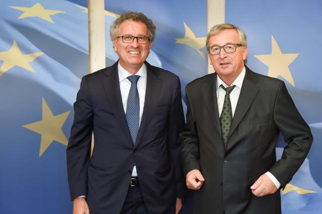 Président de l'Eurogroupe durant 8 ans, Jean-Claude Juncker connaît les contraintes de cette fonction mais juge Pierre Gramegna apte à relever le défi. (Photo: Commission européenne/archives)