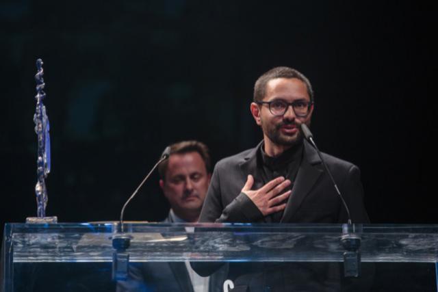 Govinda Van Maele remporte le prix du meilleur film luxembourgeois pour «Gutland». (Photo: Matic Zorman)