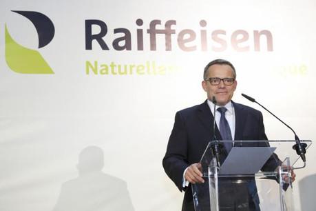 Guy Hoffmann, président du comité de direction de Raiffeisen, doit officiellement être nommé président de l'ABBL vendredi, lors de l'assemblée générale. (Photo: Luc Deflorenne / archive)