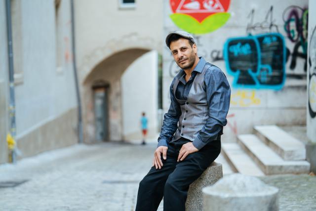 «Ici, je peux reconstruire ma vie, réaliser mes projets», indique Hamoda. (Photo: Sven Becker )