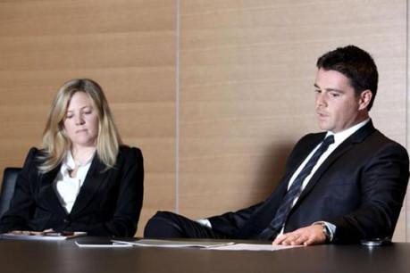 Venetia Lean, fille de David Rowland, et Jean-François Willems, respectivement COO et CEO de Banque Havilland.  (Photo : Luc Deflorenne)