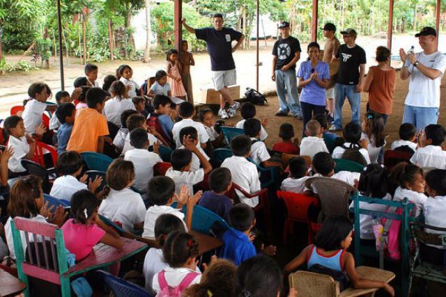 L'accès aux études nécessite aussi des financements privés en Amérique du Sud. (Photo: Licence CC)