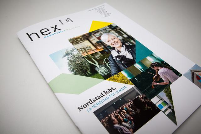 Le premier numéro du magazine hex est paru ce 12 mars 2015. (Photos: Maison Moderne Studio)