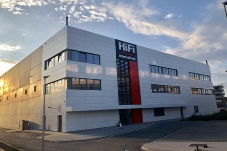 Le nouveau siège d'Hifi International représente un investissement de 13,5 millions d'euros. (Photo: Hifi International)