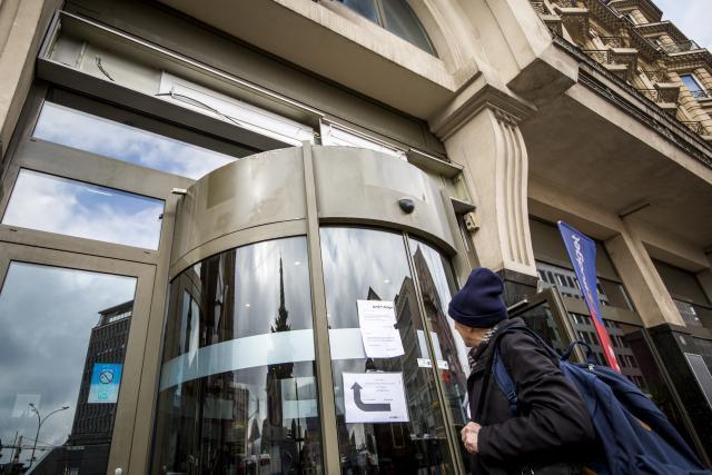 L'hôtel emblématique de la place de la Gare a été fermé par huissier de justice le 15 mars dernier, laissant près de 80 salariés dans l'attente d'une éventuelle reprise par Accor ou par un autre gérant. (Photo: Maison Moderne)