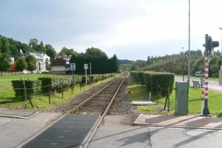 La voie ferrée menant aux usines GoodYear de Colmar Berg s'apparente à une voie de garage pour les salariés de HyoSung. (Photo : Licence CC)