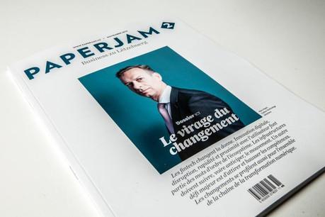 L'édition de novembre de Paperjam2 dans les kiosques jeudi. (Photos: Maison Moderne Studio)