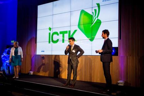 Justin Lee, le COO de ICTK, est venu présenter la firme coréenne à Luxembourg au printemps. (Photo: Maison moderne / archives)