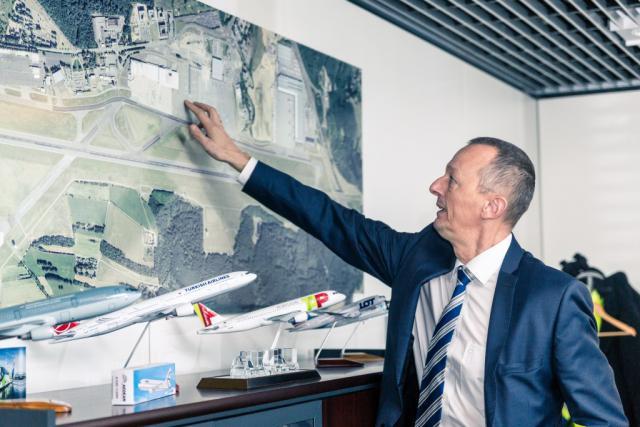 Les réflexions autour de l'instauration d'une nouvelle taxe au Findel se poursuivent, «mais rien n'est décidé», insiste Johan Vanneste, CEO de Lux-Airport. (Photo: Maison Moderne)