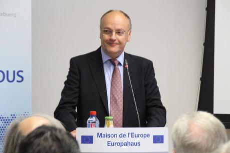 Euro-optimiste, Gaston Stronck a levé le voile sur les grandes lignes de la 12e présidence du Conseil à venir. (Photo: Maison de l'Europe)