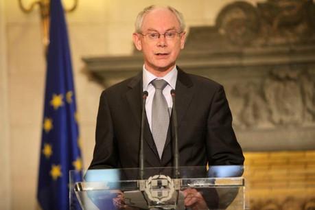 Après l'intervention d'Herman Van Rompuy et de Xavier Bettel, une table ronde s'en est suivie. (Photo: Licence C.C.)