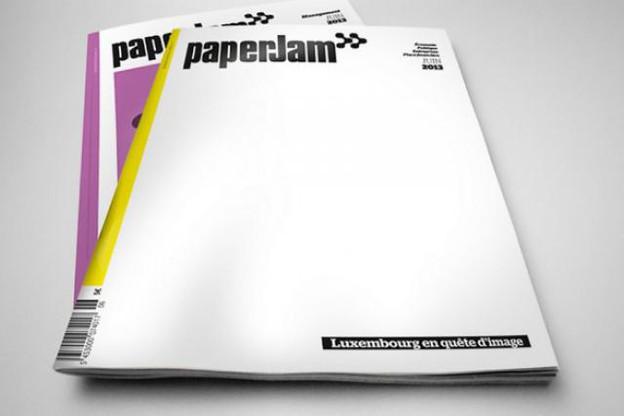 La «Une» de l'édition de juin de paperJam a pu vous surprendre.  (Photo: Maison Moderne Studio)