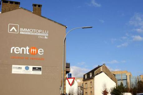 Les bureaux d'Immotop font face à la BIL, elle, bien rachetée pour 90% par des investisseurs qataris. (Photo : Olivier Minaire)