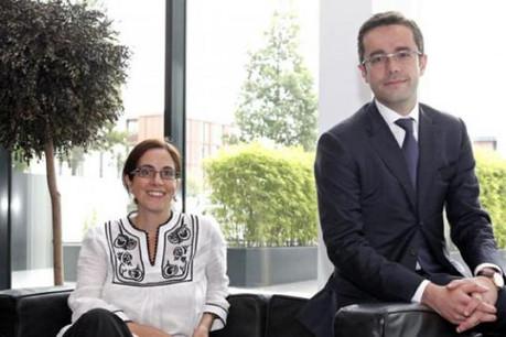 Pierre-Jean Estagerie, ici avec Annie Elfassi (Loyens & Loeff) (Photo: Olivier Minaire)