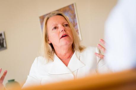 La CEO d'ING Luxembourg, Colette Dierick, présentera pour la première fois les résultats annuels. (Photo: Christophe Olinger / archives)