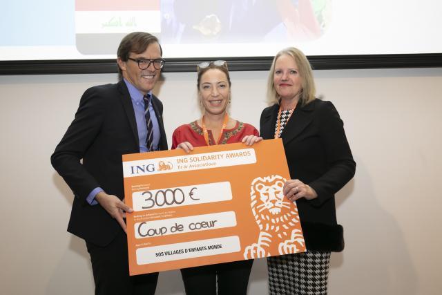 SOS villages d'enfants monde figure parmi les associations lauréates d'un ING Solidarity Award. (Photo:Blitz Photo Agency)