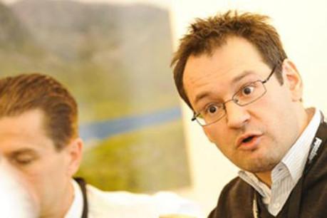 Marc Sniukas (Doujak Corporate Development) (Photo: Olivier Minaire)