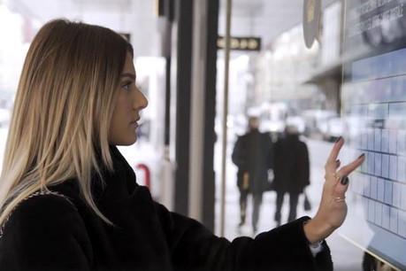 Inui Studio voit sa technologie utilisée pour différentes applications de street marketing. (Photo: capture d'écran)