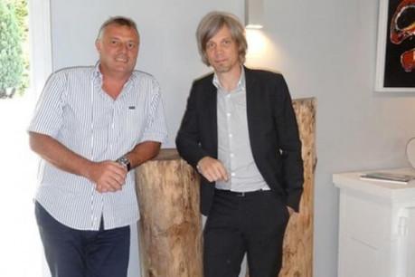 Olivier Raulot (à droite) est rejoint par un nouvel actionnaire, Christian Kelders. (Photo : DR)