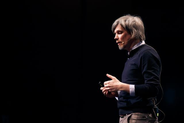 Olivier Raulot, fondateur d'Inui Studio. (Photo: Maison de l'Europe)