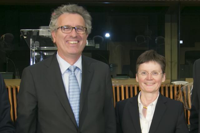 Fidèle du ministère des Finances depuis 2002, Isabelle Goubin bénéficie de la confiance de Pierre Gramegna. (Photo : ACA)