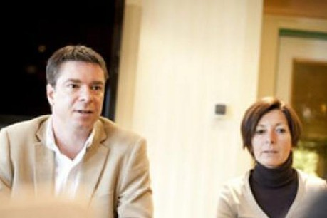Max Weber and Geraldine Müller (Sources Rosport) (Photo: David Laurent/Wide)