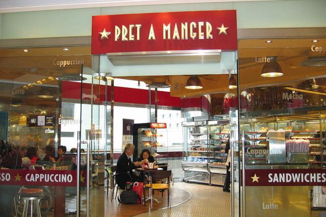 La chaîne Pret A Manger a été achetée par Jab Holding, dont le siège est au Luxembourg.  (Photo: Licence C.C.)