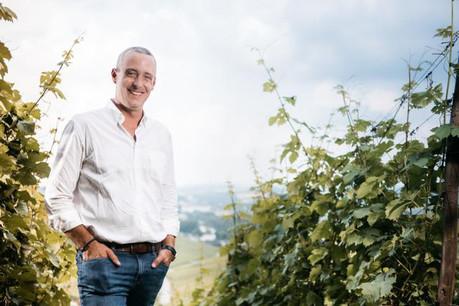 Josy Gloden au cœur de son vignoble de Bech-Kleinmacher. (Photo: Edouard Olszewski)
