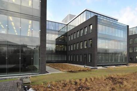 Ce nouveau bâtiment compte trois étages et dispose de 250 postes de travail. (Photo: Jan De Nul)
