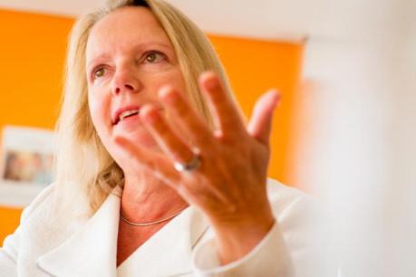 «C'est motivant pour tout le monde, même si c'est un sérieux défi» admet Colette Dierick. (Photo: Christophe Olinger)