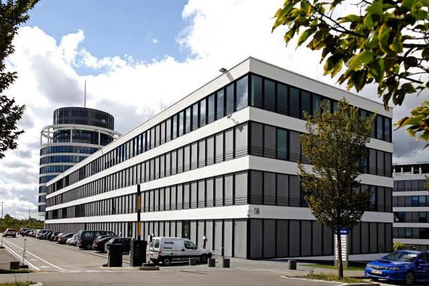 Le centre Drosbach, déjà occupé par des services de la Commission, pourrait accueillir une partie des équipes du Jean Monnet. (Photo: Olivier Minaire / archives)