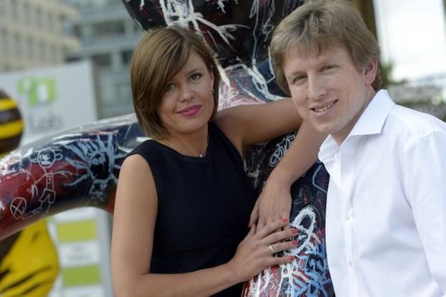 Polina Frolova et Eugene Mizin, fondateurs de Job Today. (Photo: Christophe Olinger)