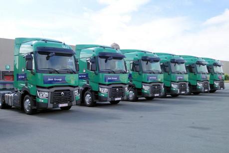Le groupe de transport aurait employé pas moins de 1.100 salariés roumains et slovaques aux conditions de travailleurs détachés entre 2014 et 2016. (Photo: Renault Trucks)