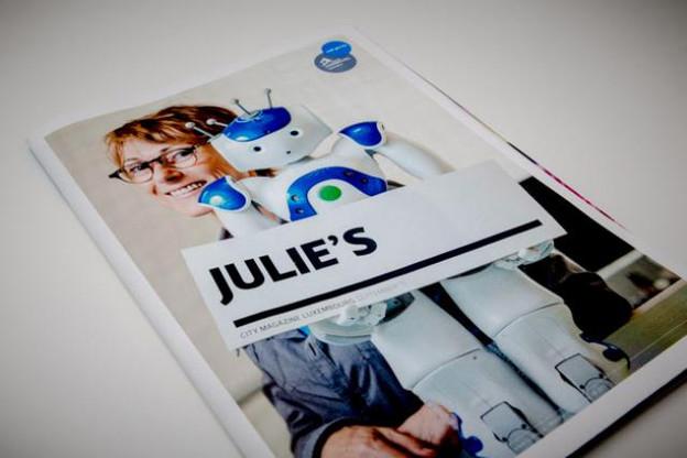 L'édition de septembre nous présente Julie, l'humanoïde du Mudam. (Photos: Maison Moderne Studio)