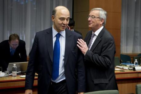 Pierre Moscovici peut compter sur le soutien de Jean-Claude Juncker. (Photo: Conseil européen)
