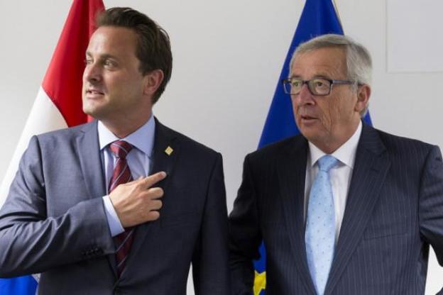 Xavier Bettel et Jean-Claude Juncker se sont rencontrés en marge du Conseil européen. (Photo: SIP / Thierry Monasse)