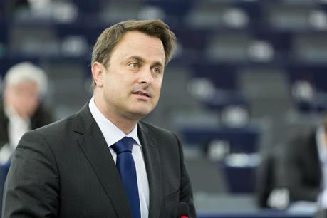 Xavier Bettel pourrait revenir le 22 septembre devant le Parlement européen pour évoquer les questions de fiscalité des entreprises. (Photo: SIP/Thierry Monasse)