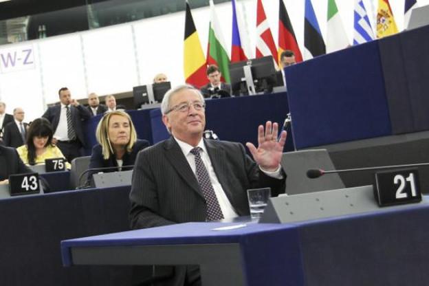 Au Parlement européen mardi, Juncker n'a pas livré trop de détails sur ses objectifs en matière de fiscalité. (Photo: Parlement européen)