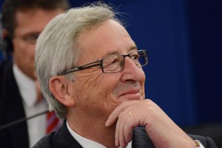 Jean-Claude Juncker ce mardi au Parlement européen (Photo: Parlement européen)
