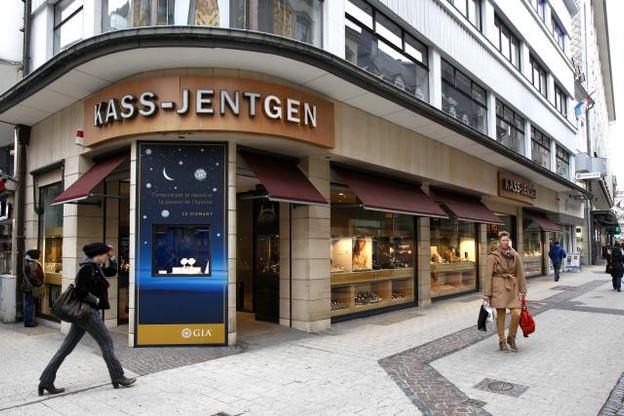 Un des plus anciens commerces indépendants de Luxembourg, la bijouterie Kass-Jentgen et Fils, doit fermer sa boutique du centre-ville. (Photo: Olivier Minaire)