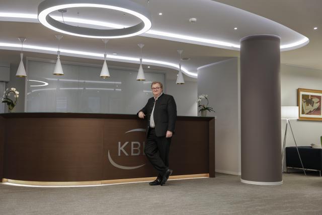 Le Belge Peter Vandekerckhove, aux commandes de KBL epb depuis le début de l'année. (Photo: Romain Gamba)