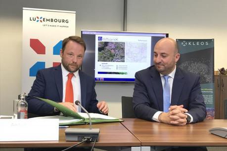 Neuf mois après son implantation au Luxembourg, Andy Bowyer, CEO de Kleos Space, annonce la création de la première filiale de la start-up, en Australie. (Photo: paperJam / Archives)